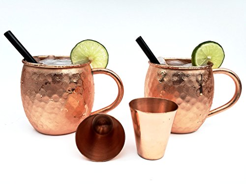 Copper Glasses For Moscow Mules