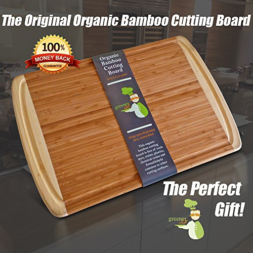 best organic bamboo wood cutting  kitchen chopping board with, Kitchen design