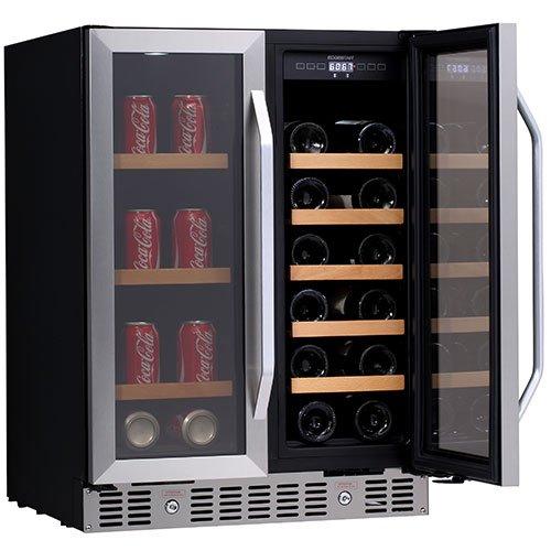 EdgeStar 24 Inch Built-In Wine and Beverage Cooler ...