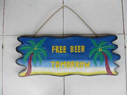 Bar Signs Great Bartender