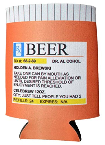 Prescription Bottle Koozie
