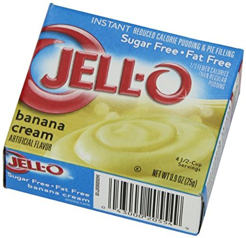 Jell-O Sugar Free-Fat Free Instant Pudding And Pie Filling