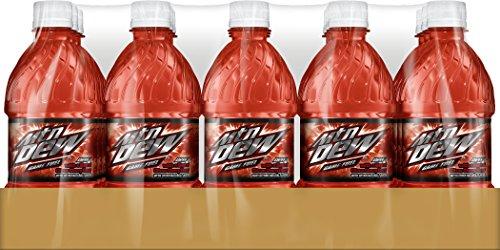 Mountain Dew Game Fuel Citrus Cherry 16 Fl Oz Pack Of 15