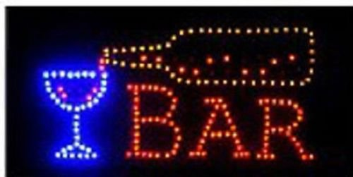 Open bar led neon business motion light sign onoff with chain 19 open bar led neon business motion light sign aloadofball Image collections