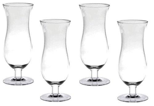 Hurricane Glasses Great Bartender