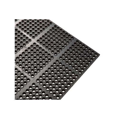 Tiger Chef Interlocking Floor Mat Feet X Feet X Inch Black - Black and white interlocking floor mats