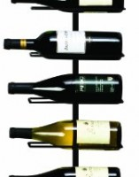 align wallmounted wine rack by true