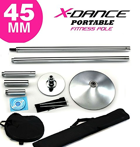 X Dance Tm 45 Mm Professional Exotic Fitness Removable