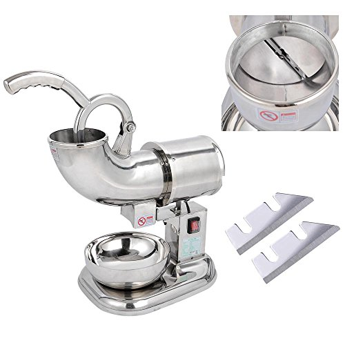 Countertop Electric Ice Cream Maker : ... Countertop Electric Ice Shaver Maker Crusher Snow Cone Machine - Great