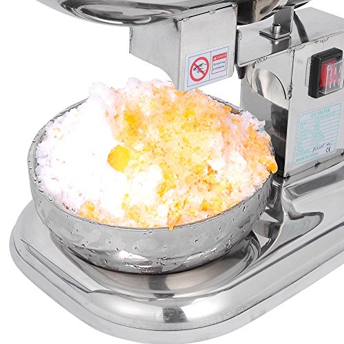 ... Countertop Electric Ice Shaver Maker Crusher Snow Cone Machine - Great