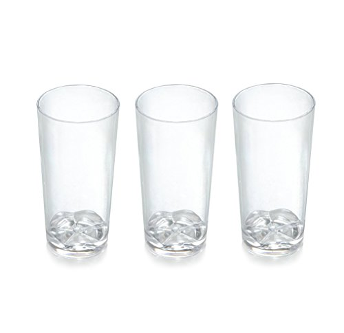 Zappy 52 Disposable Plastic Straight Wall Shooter Glasses
