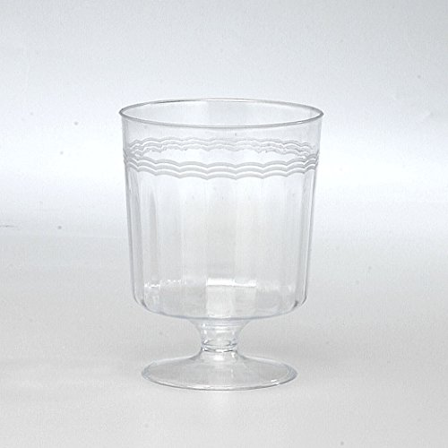 10 Count Clear Disposable Wine Beer Gles Cups
