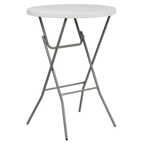 """Awesome 32"""" Round Granite Plastic Bar Height Folding Table Top Search - Popular folding bar table Contemporary"""