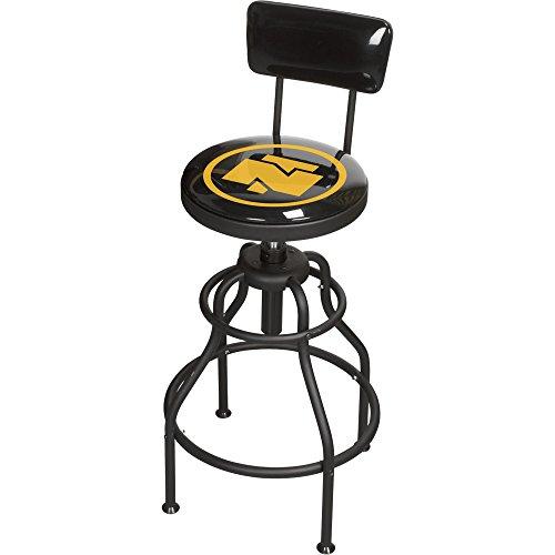 Bon Adjustable Shop Stool With Backrest