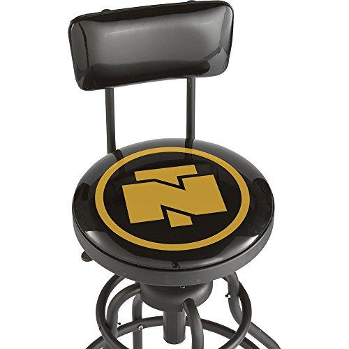 Adjustable Shop Stool With Backrest 0 1