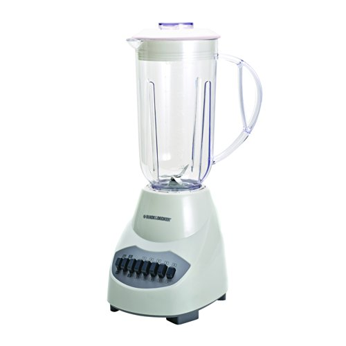 Black Amp Decker Bl2010wp 10 Speed Blender With Plastic Jar