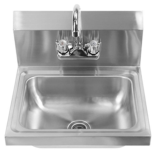Gridmann Commercial Nsf Stainless Steel Sink Wall Mount Hand