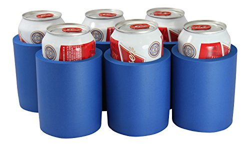 Can Coolers Non Collapsible Foam Beverage Can Set Of 6