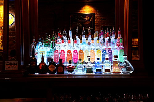 Led Bar Shelf Liquor Bottle Or Item Display Great