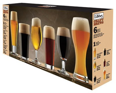 Libbey Craft Beer Glass Barware Pc Set