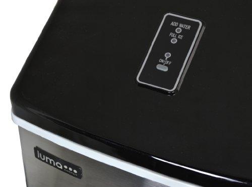 Luma Comfort IM200SS Portable Clear Ice Maker ...