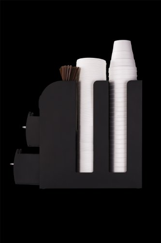 Mind Reader Coffee Condiment And Accessories Caddy Organizer Black