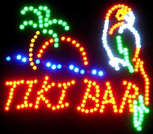 2/' LED bottle display shot glass bar display TIKI bar sign LED REMOTE CONTROL
