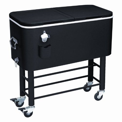 Rio Brands Entertainer Rolling Party Cooler Great Bartender