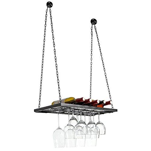 Vineyard Design Country Rustic Metal Ceiling Mounted