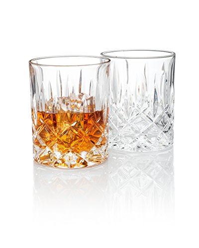 Waldorf Quot Men S Bar Quot Crystal Whiskey Glass Gift Box Set Of