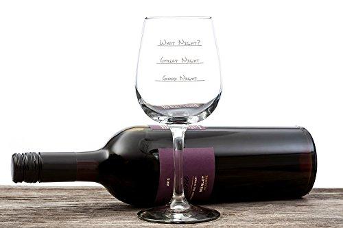 What Night? Funny Wine Glass 13 Oz